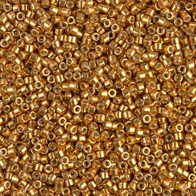 Delica 11/0 - DB1833 - Duracoat Galvanized Yellow Gold
