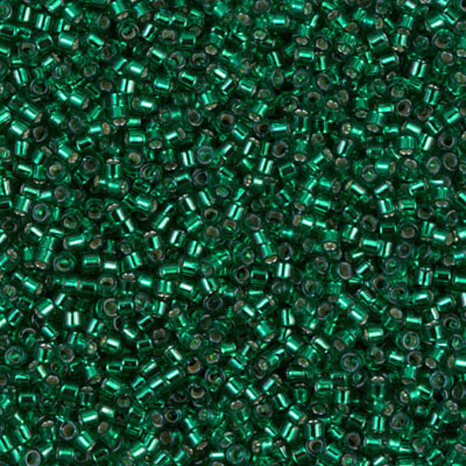 Delica 11/0 - DB605 - Silver Lined Emerald