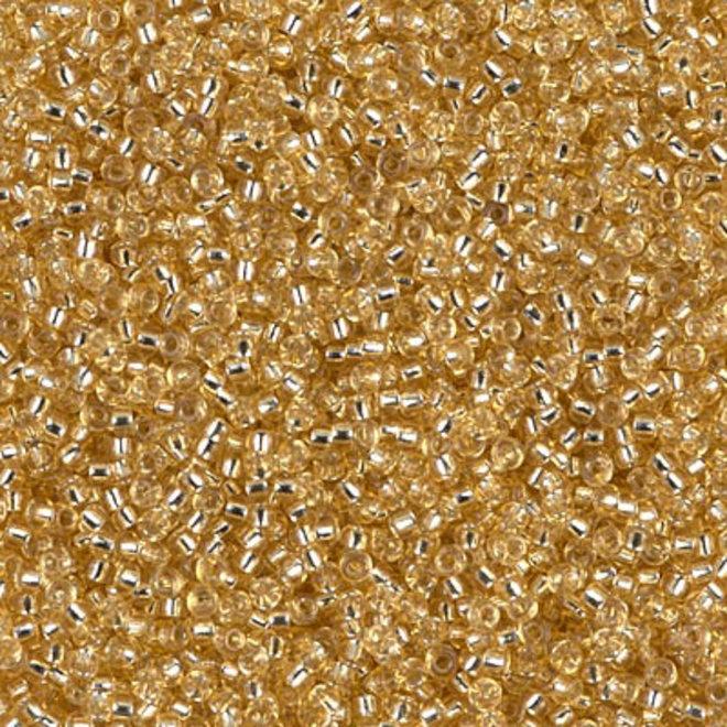 Perlina rocaille Miyuki 15/0 - Silver Lined Gold