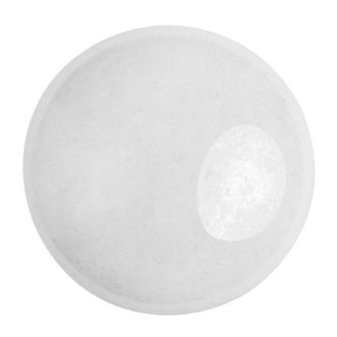 Cabochon par Puca® - 25 mm - Opaque White Ceramic Look