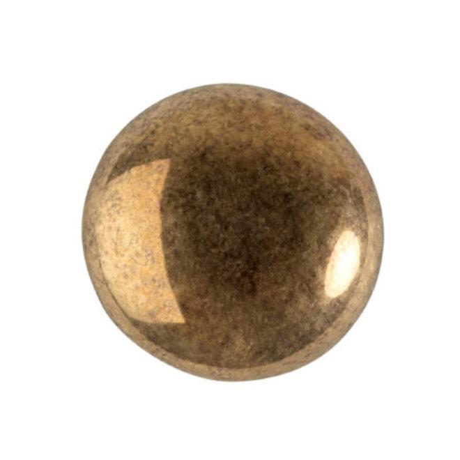 Cabochon par Puca® - 18 mm - Dark Gold Bronze