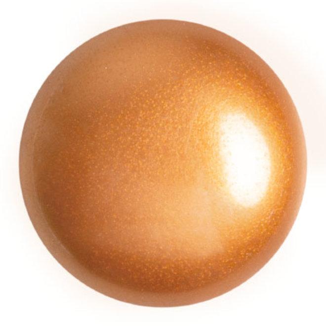 Cabochon par Puca® - 25 mm - Gold Pearl