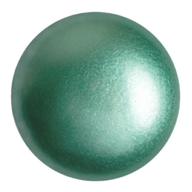 Cabochon par Puca® - 25 mm - Green Turquoise Pearl