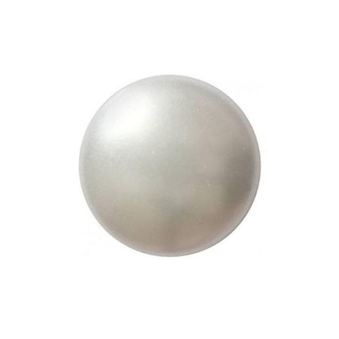 Cabochon par Puca® - 14 mm - White Pearl (2 pz.)
