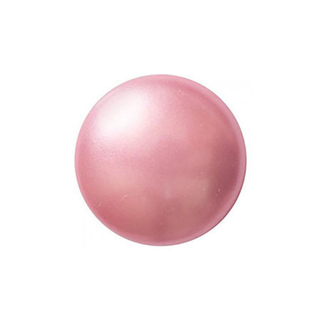 Cabochon par Puca® - 14 mm - Rose Pearl (2 Stk.)