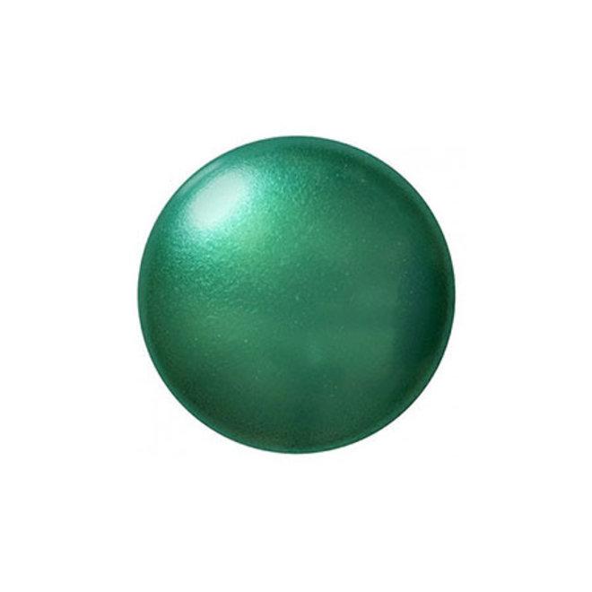Cabochon par Puca® - 14 mm - Green Turquoise Pearl (2 pz.)