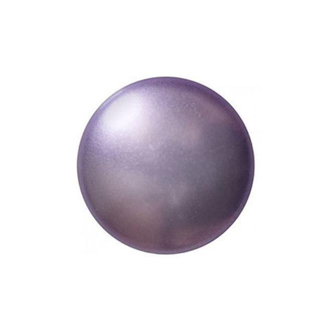 Cabochon par Puca® - 14 mm - Violet Pearl (2 pz.)