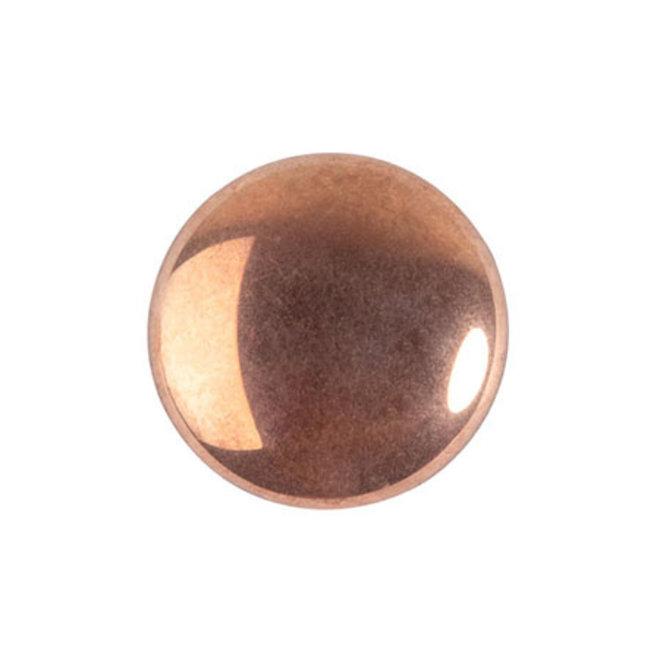 Cabochon par Puca® - 14 mm - Full Capri Gold (2 pz.)