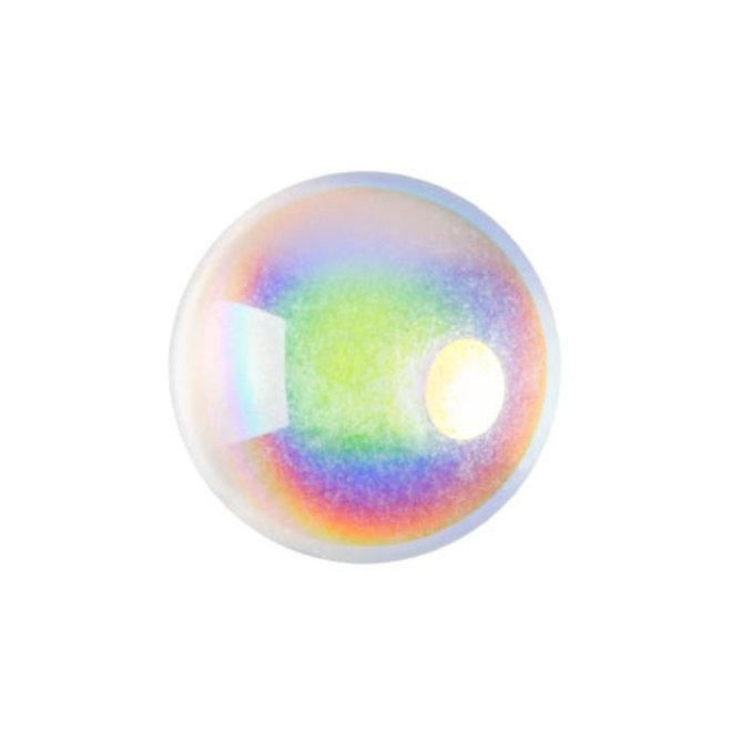 Cabochon par Puca® - 14 mm - Crystal AB (2 pz.)