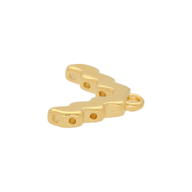 Cymbal™ Menites-Superduo Bead Ending - 24K Gold Plate