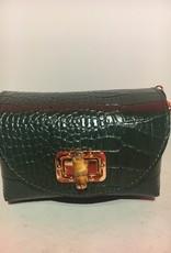 Mondieux Madame Klein schoudertasje uit krokodillenleer