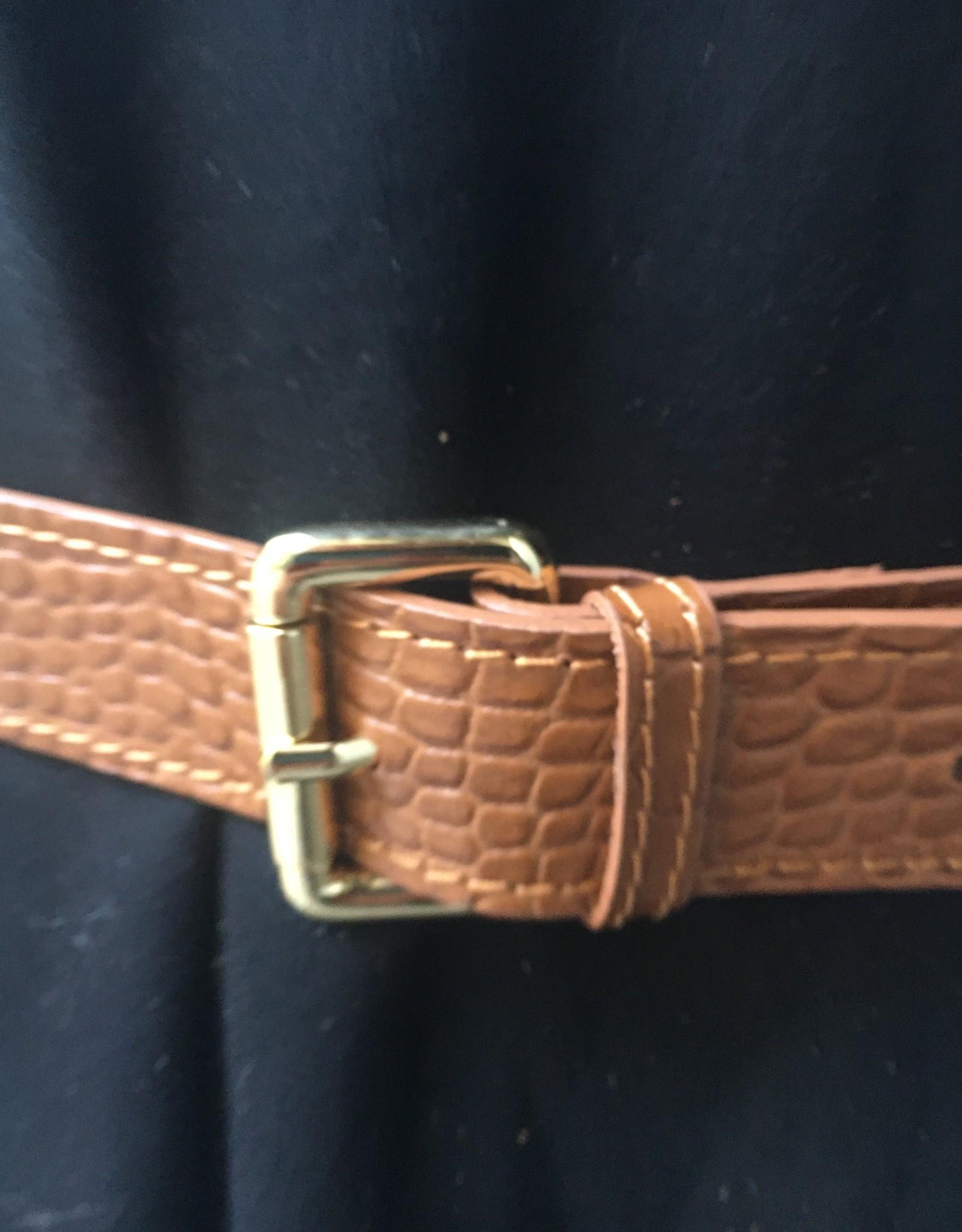 Mondieux Madame Crocodile leather bag
