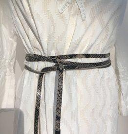Giuliano Small leather belt