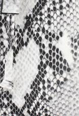 Buideltasje croco  kunstleder, met schuiflint; meerdere kleuren