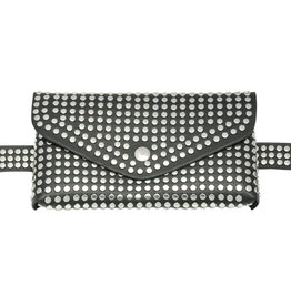Hipbag with studs, several colors