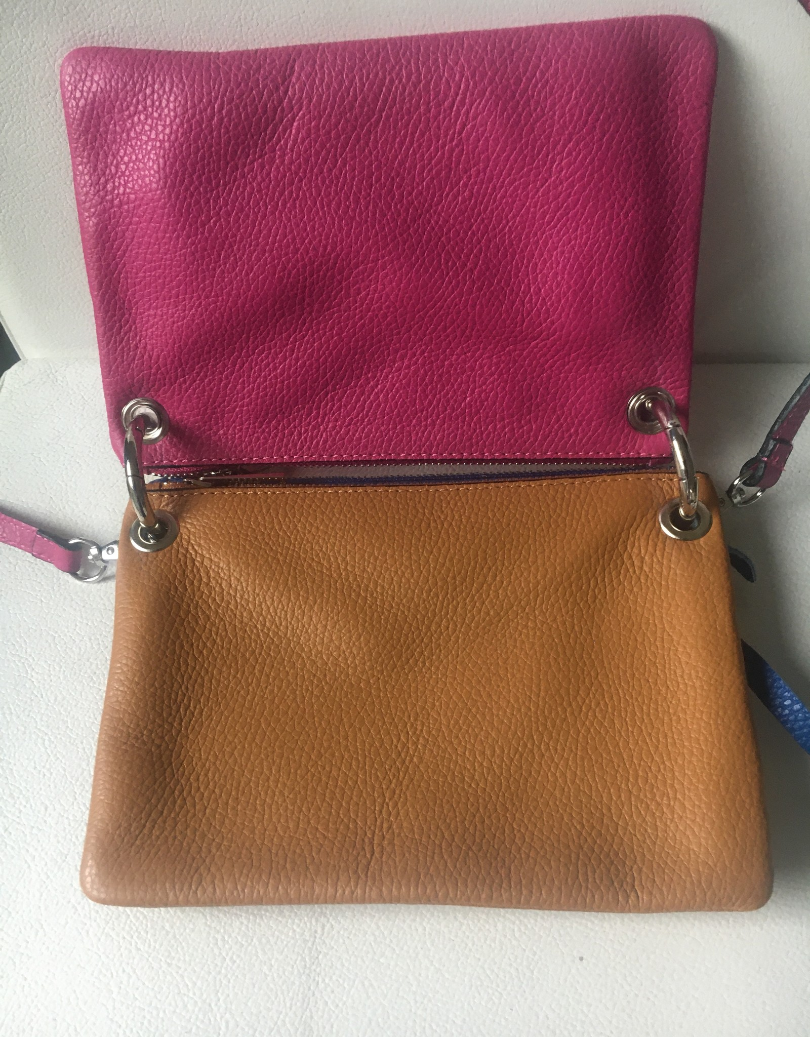Leather bag 3 in 1