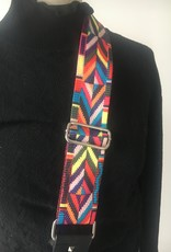 Multicolor belt for handbag