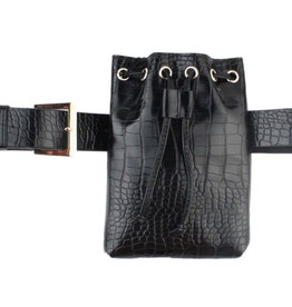 Hipbag croco with belt, several colors