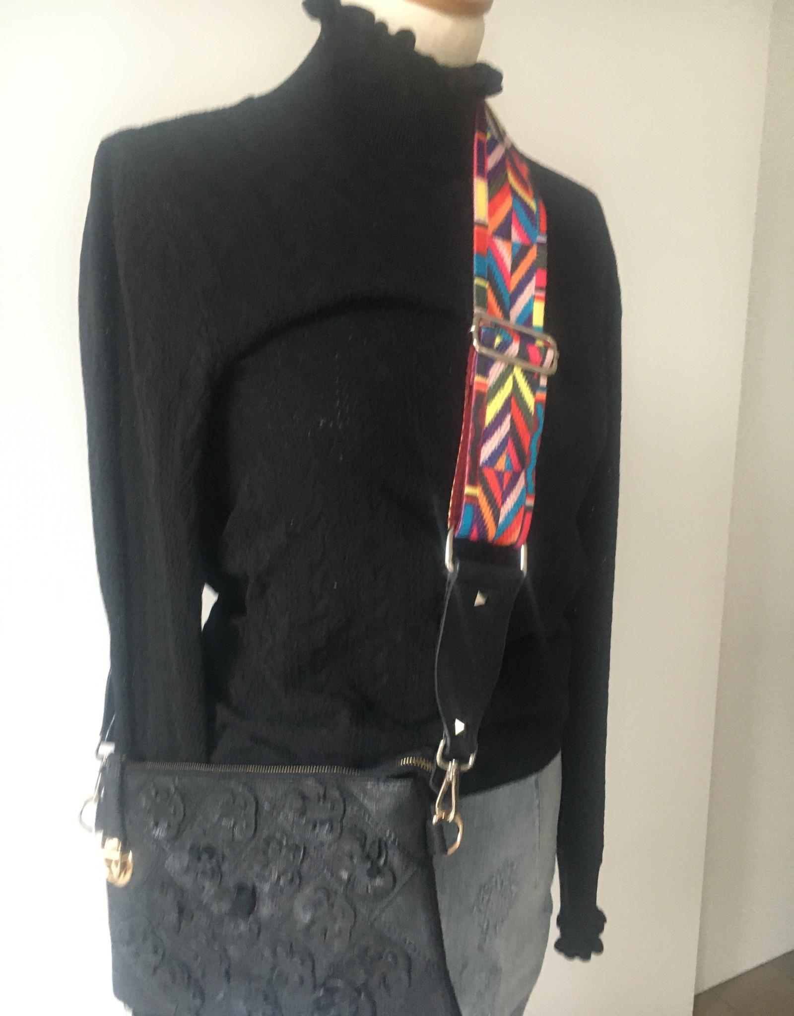 Gekleurde riem voor handtas