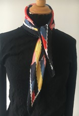 Satijnen bandana in plissé, verschillende kleuren