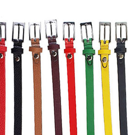 Leather belt in several colors