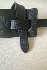 Giuliano Pull-through belt in leather, one size