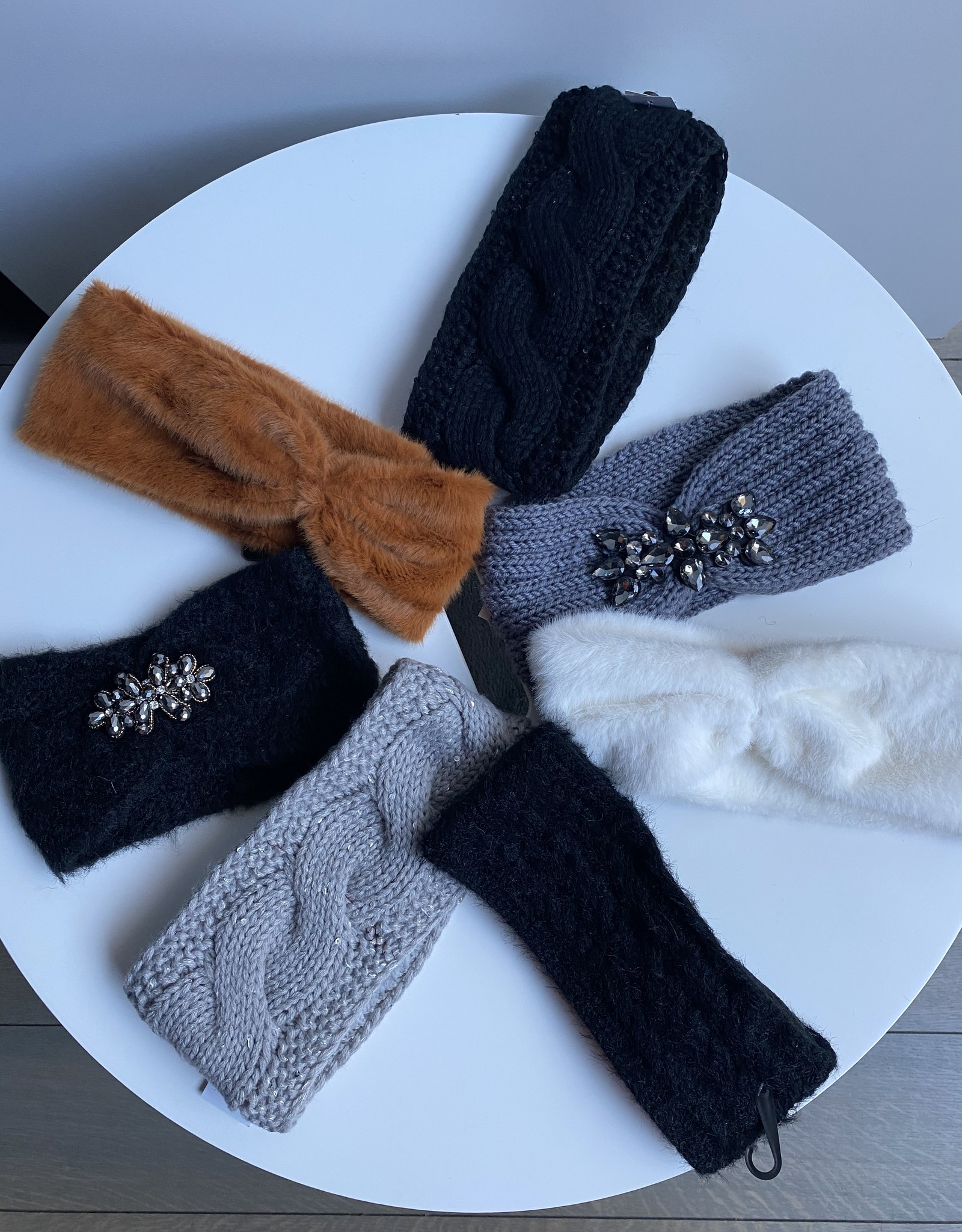 Winter knitted hair bands with , several colors