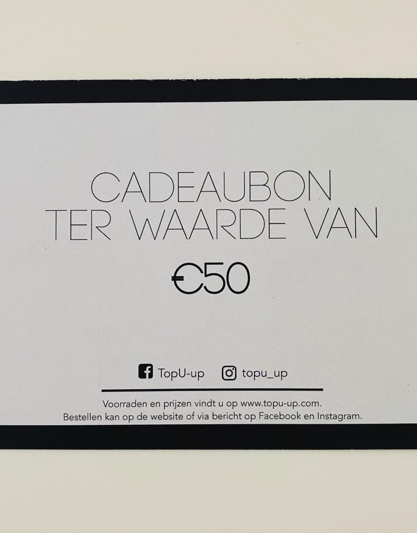 Cadeaubon 50€