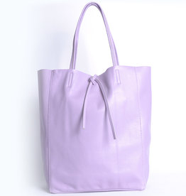 Giuliano Leather shopper in purple