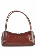 Giuliano Long leather bag with fixed handles