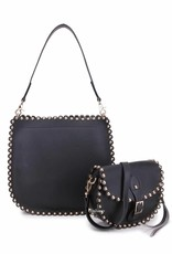 Two bags in one with studs.