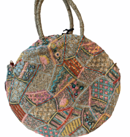Eyecatcher beachbag handmade with sequins