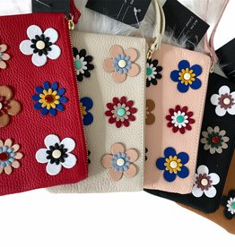 Little leather clutches in several colors