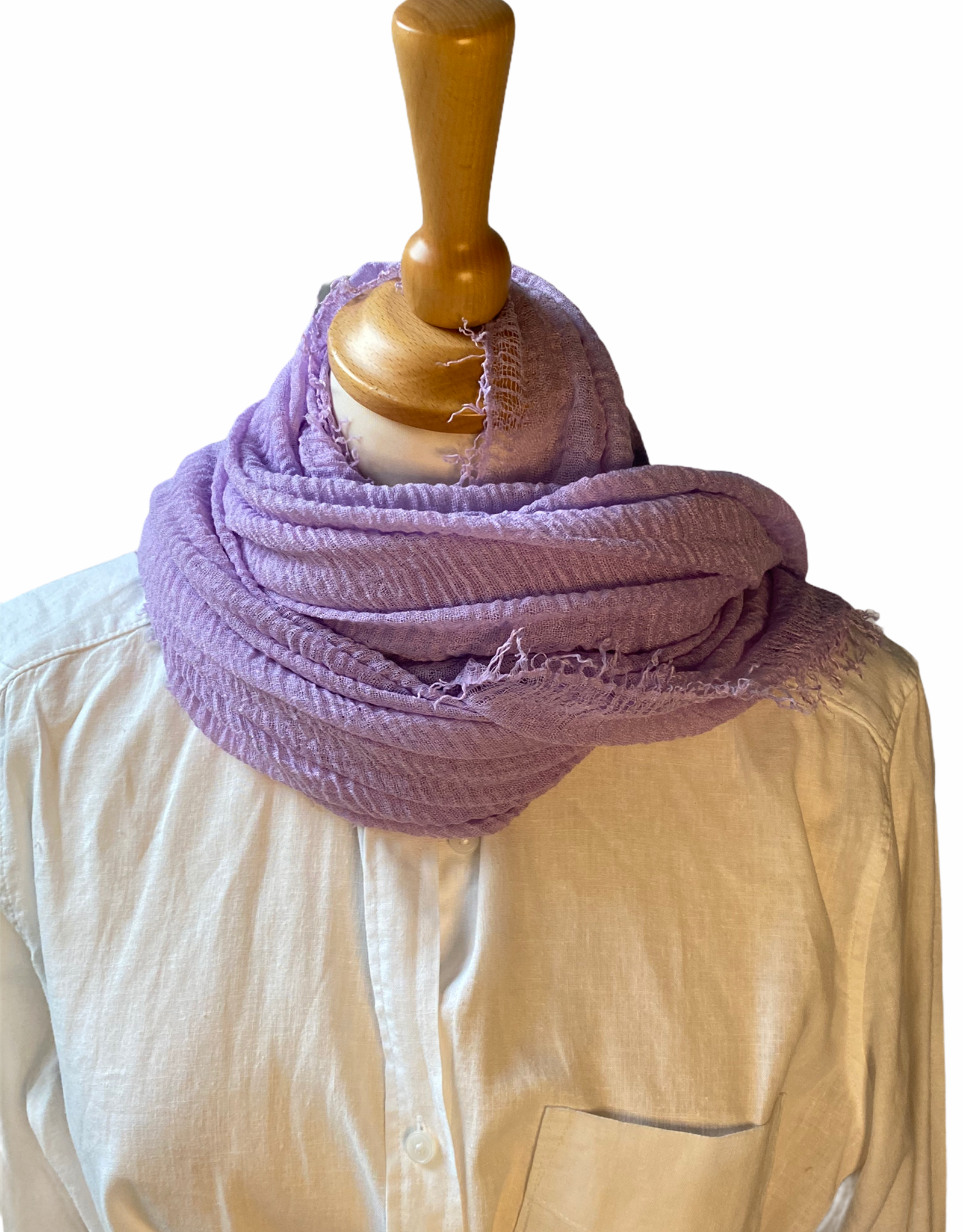 Cotton woven scarf in many colors
