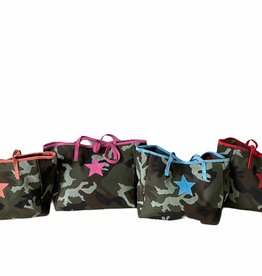 Shopper in canvas camoulageprint