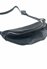 Leather hip bag, several colours