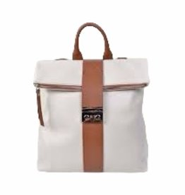 Two in one handbag/backpack in leather