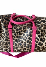 Duffel bag in artificial leather