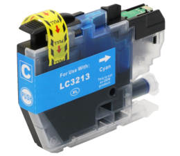 OFFICE-SHOP.BE Compatible inkt LC3213 - Cyan