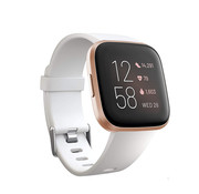 Fitbit Versa silicone band (wit)