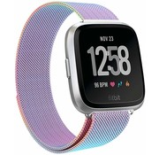 Fitbit Versa Milanese band (rainbow)