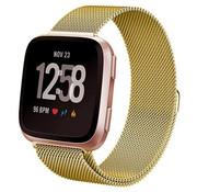 Strap-it® Fitbit Versa Milanese band (goud)