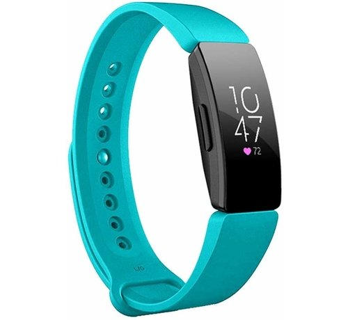 Strap-it® Strap-it® Fitbit Inspire  silicone band (turquoise)