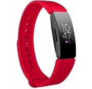Fitbit Inspire silicone band (rood)