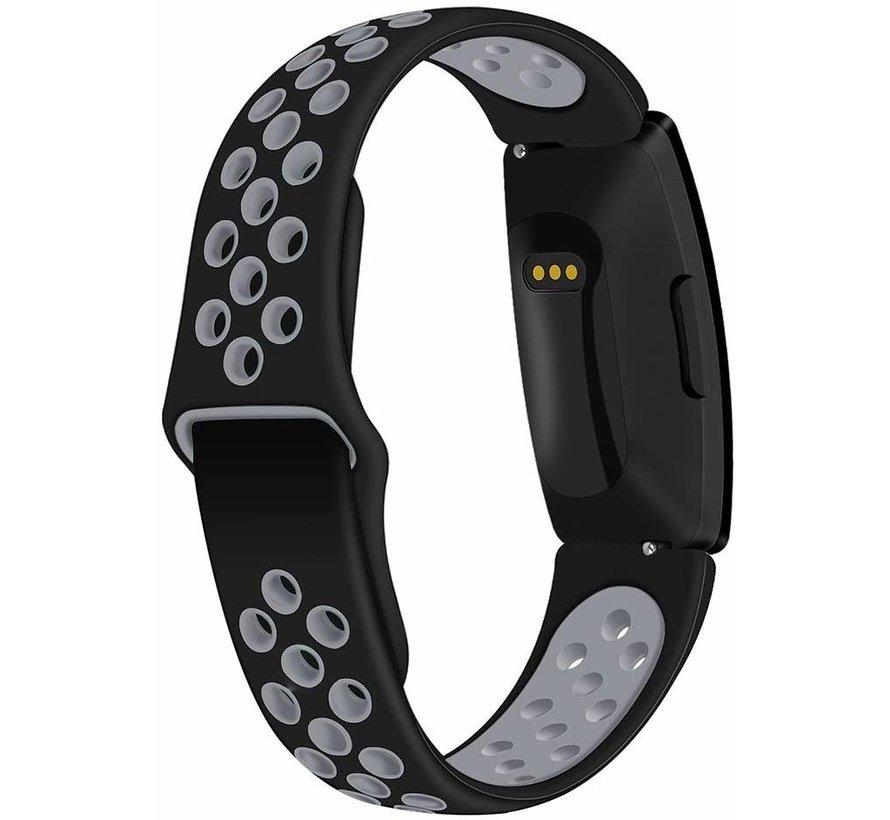 Fitbit Inspire sport band (zwart/grijs)