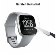 Strap-it® Fitbit Versa screen protector tempered glass