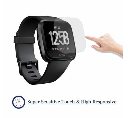 Strap-it® Strap-it® Fitbit Versa screen protector plastic