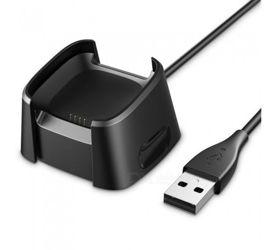 Strap-it® Fitbit Versa oplader USB