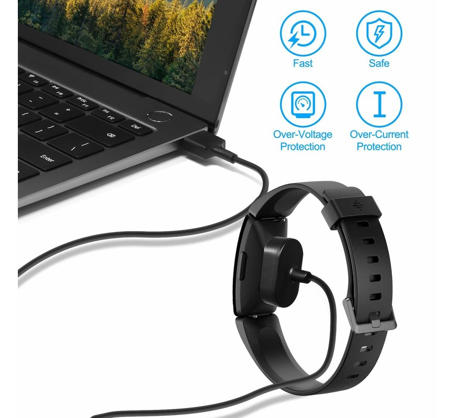 Strap-it® Fitbit Inspire oplader