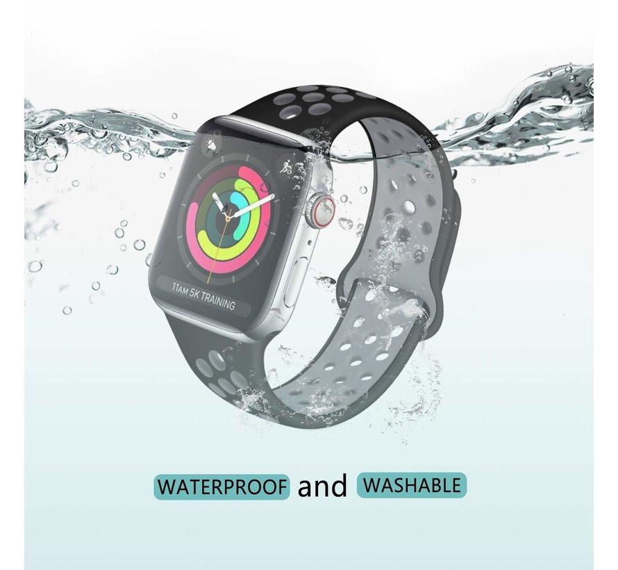 Apple Watch sport+ band (zwart/grijs)